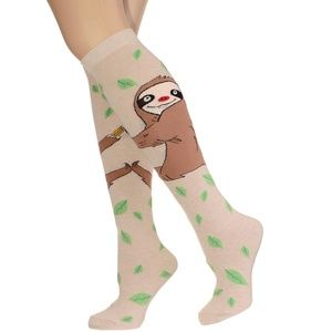 Along For The Ride Sloth Socks